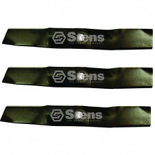 "1 Set of 3 Medium Lift Blades 54"" Deck John Deere Lawnmowers M143520"