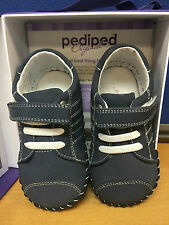 Pediped JAKE NAVY Sneaker VARIETY SIZES 610-NV NEW IN BOX