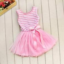 NEW GIRL/INFANT/TODDLER PINK AND WHITE TUTU DRESS/XMAS/PARTY -1-2-3-4-5-6