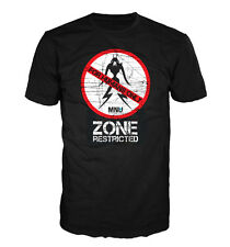 HUMANS ONLY, Alien restricted zone T-shirt based on the 2009 film District 9