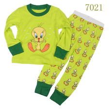 Baby boys'  Kids' Clothing Sleepwear Long T-shirt + pants Suit  Nightwear 7021UK