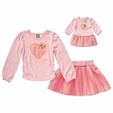 """Dollie & Me Sz 10 and 18"""" Doll Matching outfit clothes fits american girls"""