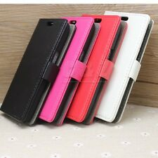 4Colors Flip Wallet Folio Leather Case Cover For Samsung Galaxy Core LTE G386F d