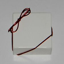 "Red Metallic Stretch Loops 8"" 10"" 19"" for 1 lb. & 1/2 lb. Candy & Jewelry Boxes"