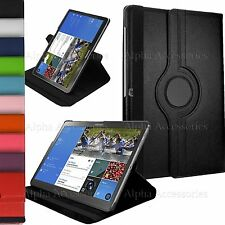 """Leather 360 Rotating Multi Angle Stand Cover 4 Samsung Galaxy Tab Pro 12.2"""" T900"""