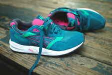 Asics Women's Gel Saga Shaded Spruce Green Pink White New retro runner kith lyte