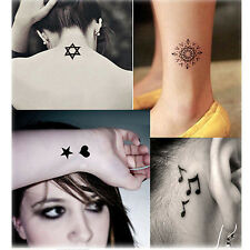 Waterproof Flash Temporary Tattoos Stickers Temporary Body Art Tatoo Removable