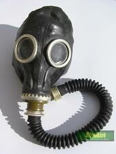 RUSSIAN ARMY GP5 BLACK GAS MASK WITH HOSE