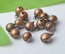 red bronze brass Jingle Bells Charm Bead Finding 6mm 8mm 10mm 12mm 14mm 16mm