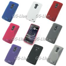 S-Line Rubber TPU pure Silicone Gel Case Skin Cover For LG G Flex D950 for AT&T
