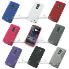soft plastic TPU Gel Rubber Silicone Case Cover Skin for LG G Flex D959 T-Mobile