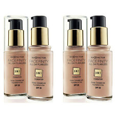 2 PACK  MAX FACTOR FACE MAKE UP FACEFINITY 3 IN 1 FOUNDATION, CHOOSE YOUR SHADE