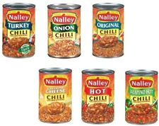 Nalley Chili Con Carne with Beans 3 - 15 oz Cans