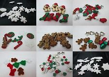 Jesse James Dress It Up Sewing / Scrapbooking buttons Christmas - Choice