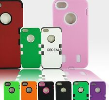New Dual Layer Hybrid Protective Rugged Case Cover Skin For iPhone 5 5S 5G