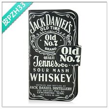 sell nostalgia beer dark jack daniels PU LEATHER FLIP Case COVER for SONY Xperia