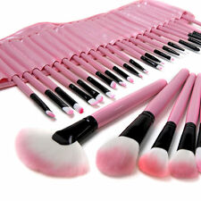 10 24 32tlg Professionelle Kosmetik Pinsel Makeup Profi Brush Schminkpinsel Set