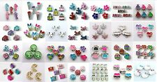 5pcs mixed Floating Charms living locket charms for your floating memory locket