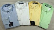 Ralph Lauren Polo Pony Classic Fit Oxford Dress Shirt 15.5 16 16.5 17.5 18 34 35
