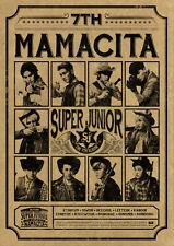 Super Junior MAMACITA B NEW VER. AYAYA 7th CD+PHOTO CARD+POSTER(OPTION)+GIFT