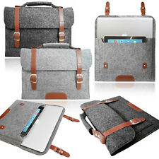 Smart Laptop Felt Sleeve BAG with HANDLE Stylish Case Cover for Apple MacBook
