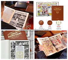 PERSONALISED Football Team Club FC NEWSPAPER Book History Gifts for 60 teams