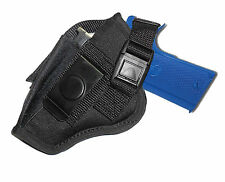 """NYLON BELT & CLIP HOLSTER w/mag pouch FITS WALTHER PP,PK,PKS, P22 3.5"""" Bbl"""