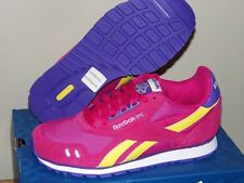 New $64 REEBOK DASH RUNNER YOUTH GIRLS pink & purple athletic TENNIS shoes