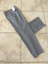 NEW Coldwater Creek Stretch Flannel Holly Pants Brown Gray Womens Dress Trouser