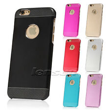 For iPhone 6/6 Plus Ultra Slim Metal Aluminium + PC Hard Back Case Cover Skin