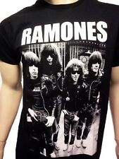 RAMONES T-SHIRT NEW BAND TEE FREE SHIPPING ROCK BAND TEES SM-2X