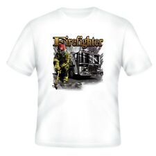 Fire Ems Police T-shirt Firefighter Fireman Firemen Fire Fighter