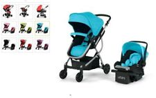 Urbini Omni Baby Infant Toddler Travel System Stroller Car Seat Combo Jogger New