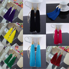 Fashion Bohemian Earrings Women Vintage Long Tassel Fringe Boho Dangle Earrings