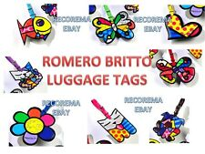 ROMERO BRITTO LUGGAGE TAG/ TRAVEL BAG ID ** ONE PER ORDER ** NEW **