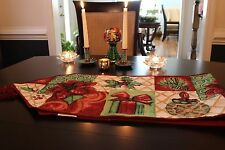 Tache Christmas Decorative Festive Gifts Tapestry Holiday Tidings Table Runners