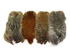 Hen Capes - natural colors  - bagder, brown, cree, grizzly