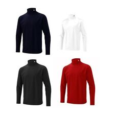 CUTTER & BUCK MENS ROLL NECK - WINTER THERMAL LONG SLEEVE JERSEY TOP