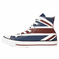 Converse CTAS Chuck Taylor All Star UK Flag Print Casual Shoes Plimsolls