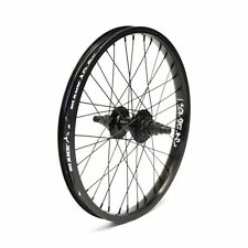 Blank BMX Compound 18in rear wheel 14mm 9 tooth black