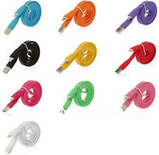 3M FLAT NOODLE MICRO USB CHARGER DATA CABLE FOR SAMSUNG GALAXY S3, S4,SONY,HTC