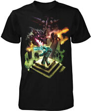 Minecraft Enderdragon Officially Licensed Kid's Youth T-Shirt - Black