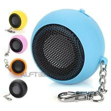 Portable Mini Capsule Speaker Rechargeable for MP3 Mobile Cell Phones