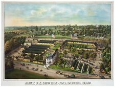 9099.Jarvis US central hospital.Baltimore maryland.POSTER.decor Home Office art