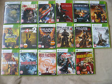 Xbox 360 Games Bundle -Choose From Drop Down List