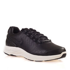 Nike Lunarglide+ 4 Nsw Black Leather Men's Trainers Shoes Sz:UK- 7.5_8_9_10_11