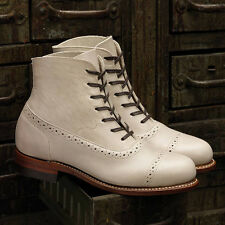 WOLVERINE 1000 MILE Women's Evelyn Cap Toe Boots - A - Made in USA