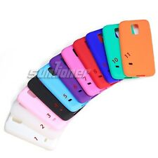 Gel Silicone Case Cover for Samsung Galaxy S5 mini,G800H G800A +Screen Protector