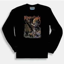 Christian SWEATSHIRT Wings of an Eagle they that wait on the Lord