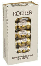 (12 x 3 ct) Ferrero Rocher Hazelnut, Chocolate Total 36 ct per box (1 lb 4.8 Oz)
